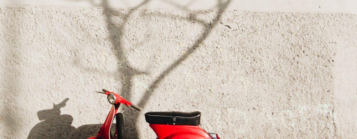 Elektrische retro scooter
